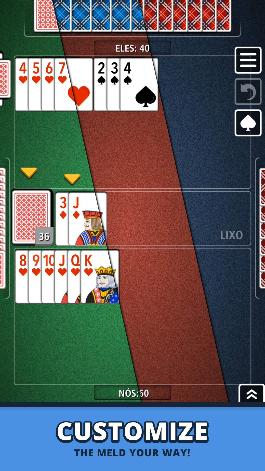 Buraco Canasta Jogatina: Card Games For Free 4.0.2 Screenshot 8