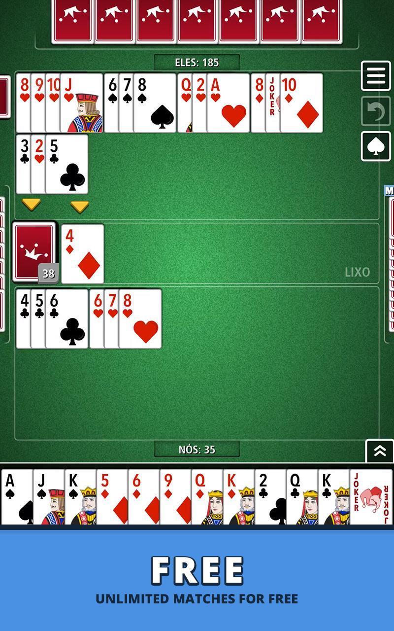 Buraco Canasta Jogatina: Card Games For Free 4.0.2 Screenshot 9