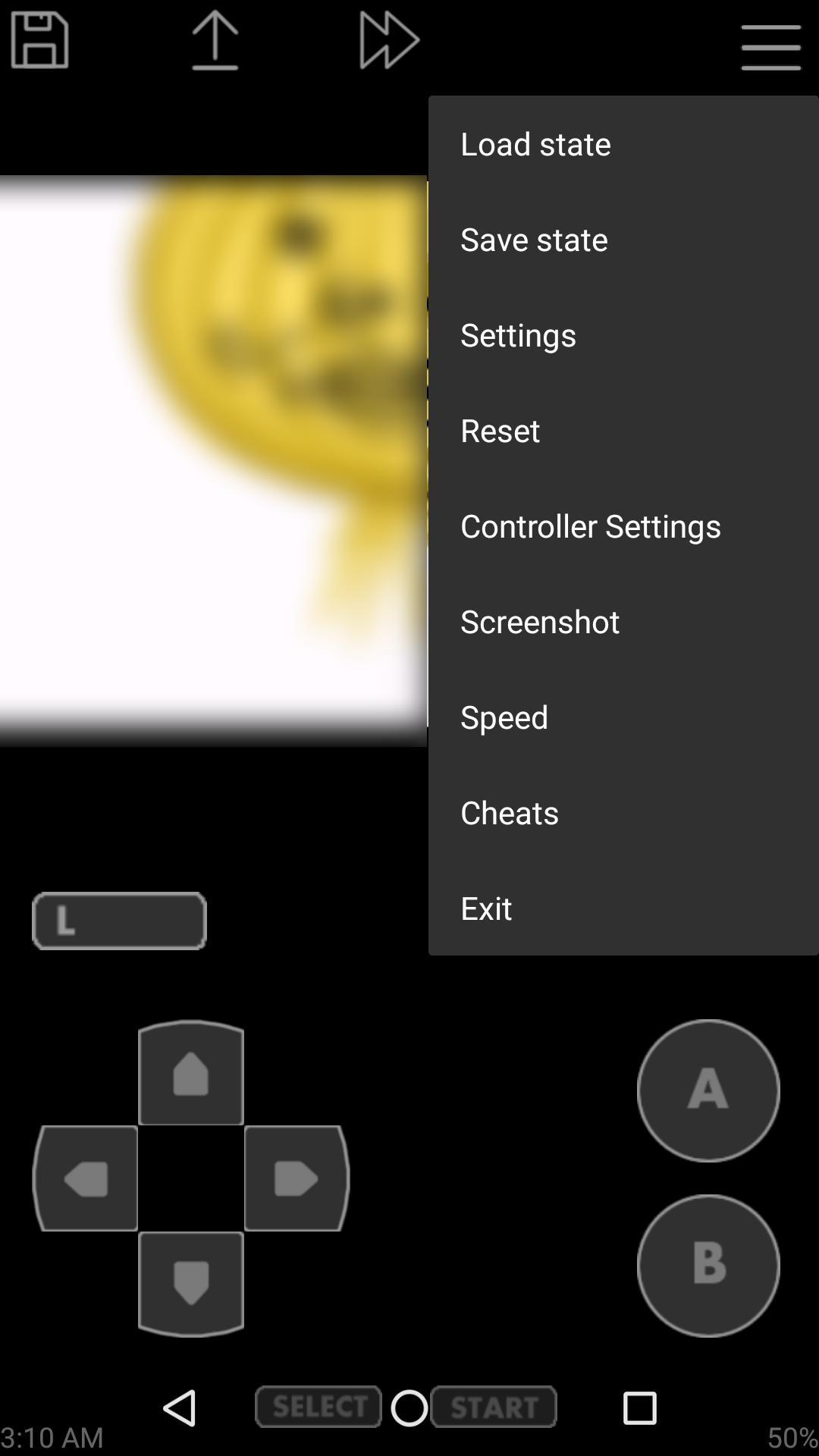 John GBA Lite GBA emulator 3.91 Screenshot 2
