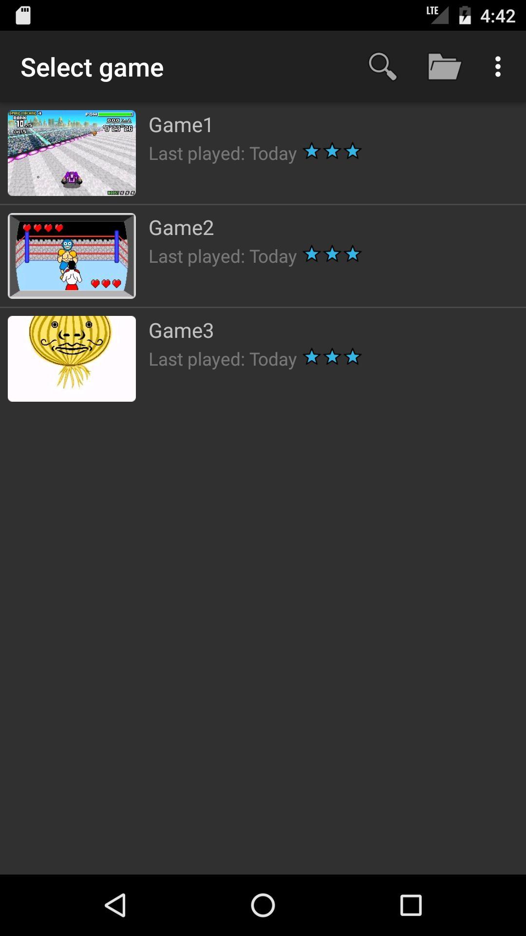 John GBA Lite GBA emulator 3.91 Screenshot 3