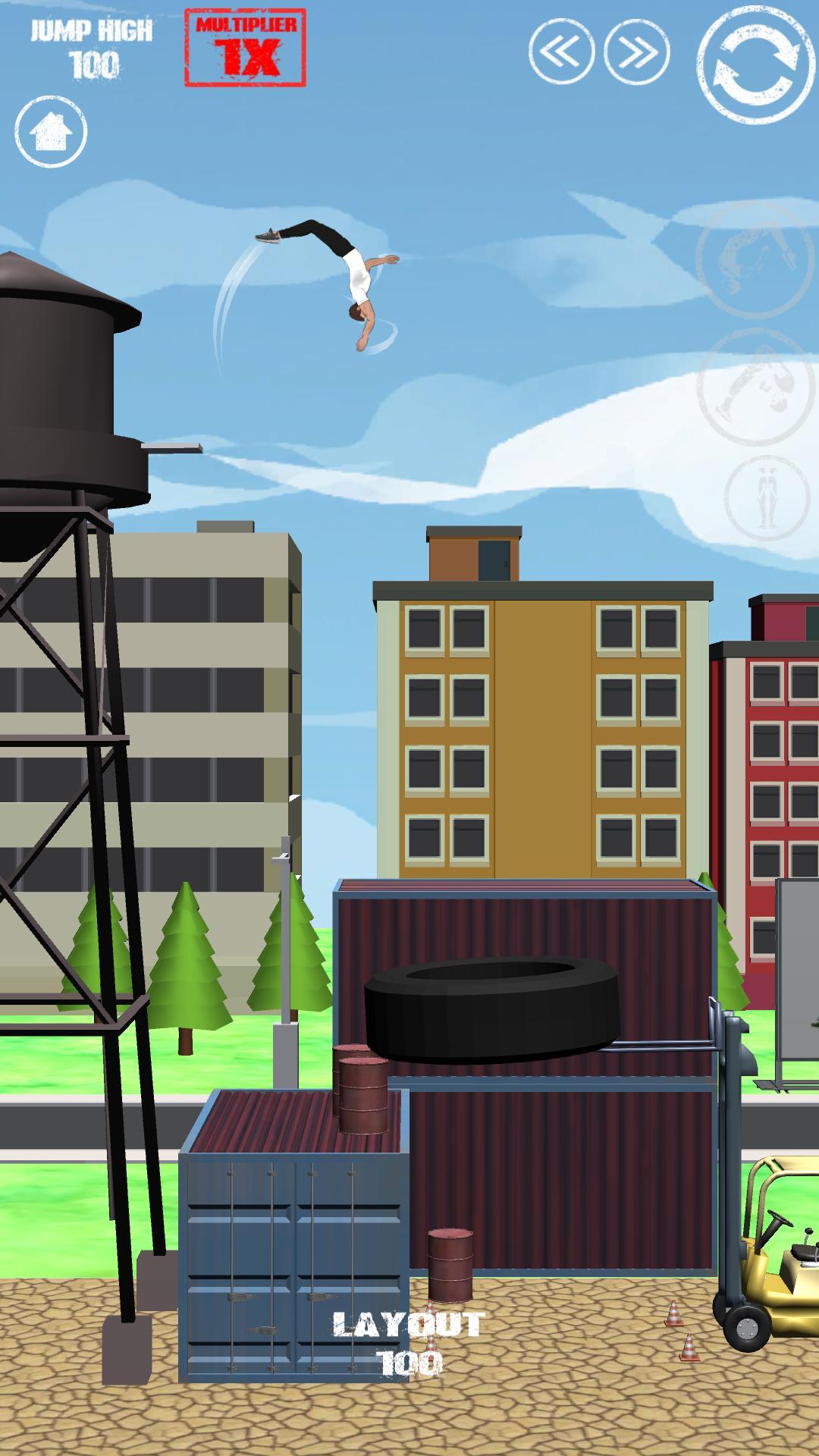 SWAGFLIP Parkour Origins 1.7.16 Screenshot 2