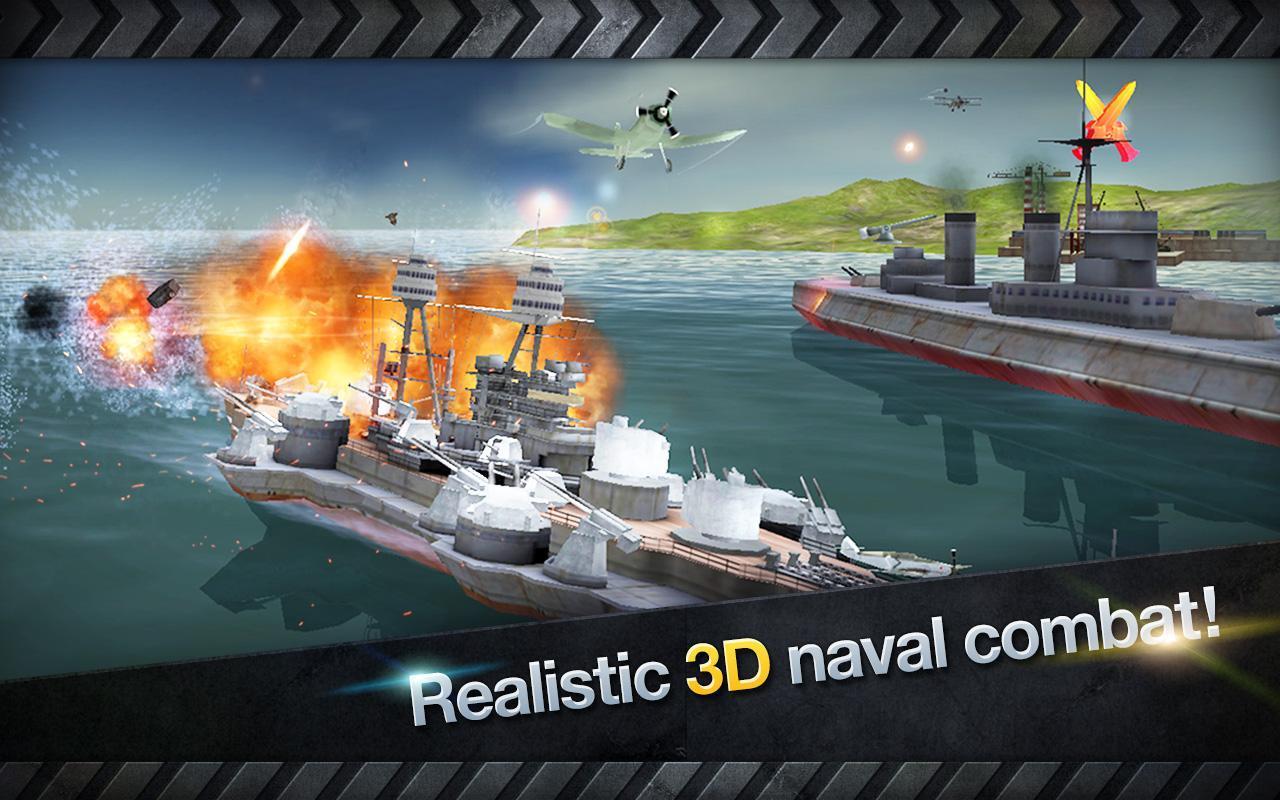 WARSHIP BATTLE 3D World War II 3.1.7 Screenshot 11