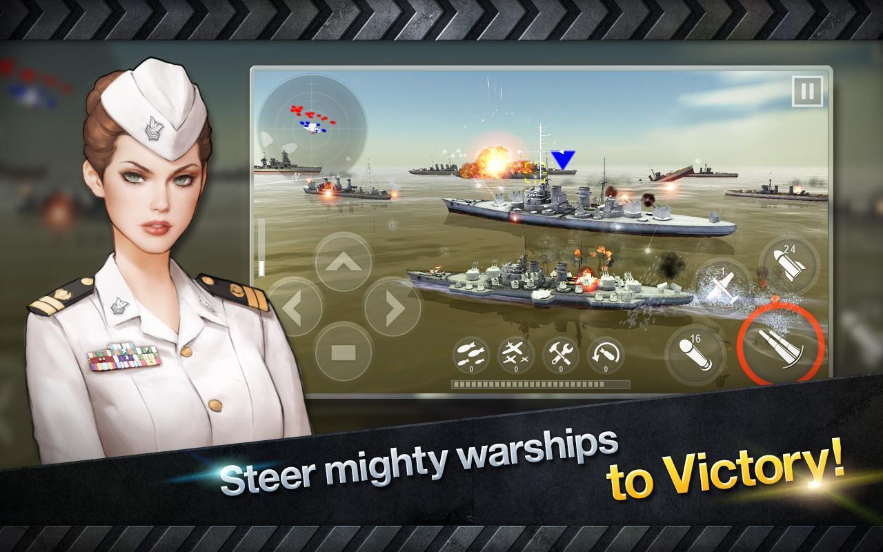 WARSHIP BATTLE 3D World War II 3.1.7 Screenshot 12