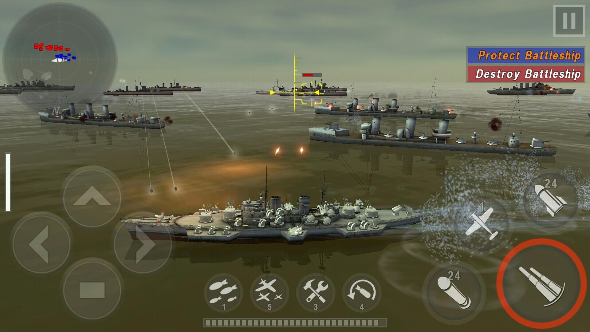 WARSHIP BATTLE 3D World War II 3.1.7 Screenshot 13