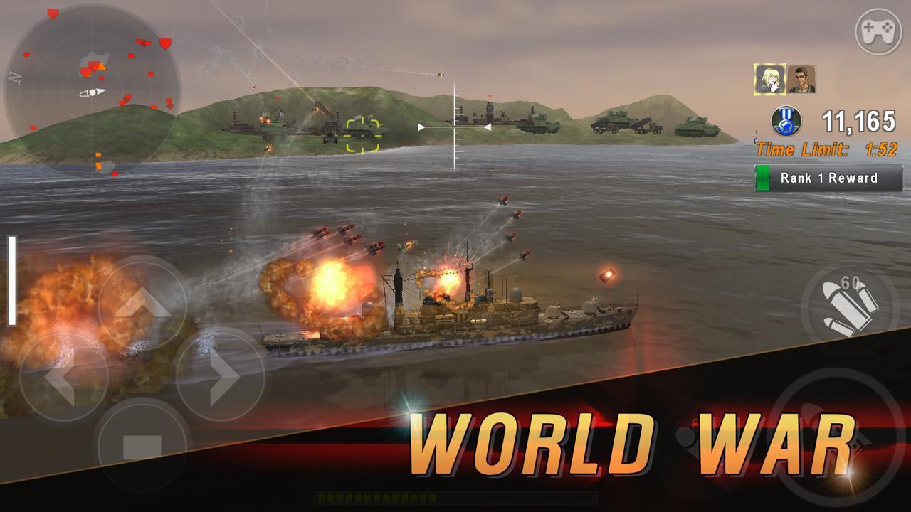 WARSHIP BATTLE 3D World War II 3.1.7 Screenshot 18