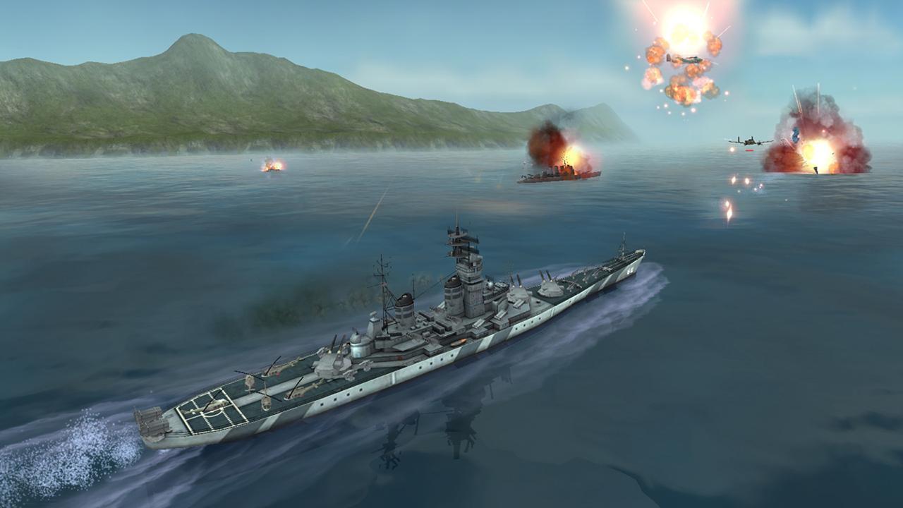 WARSHIP BATTLE 3D World War II 3.1.7 Screenshot 2