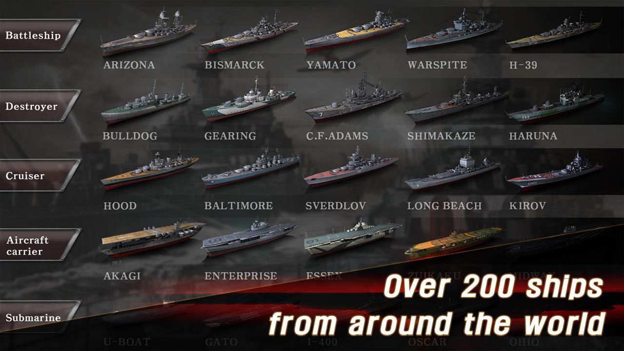 WARSHIP BATTLE 3D World War II 3.1.7 Screenshot 4