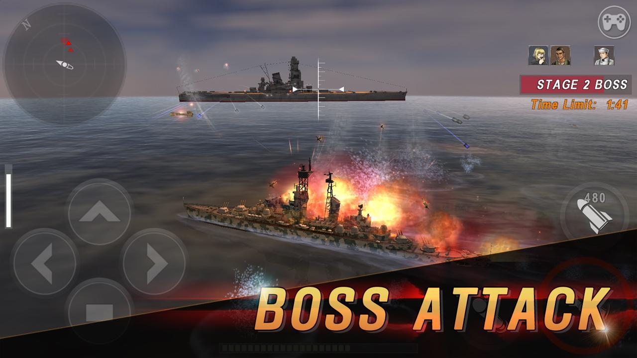 WARSHIP BATTLE 3D World War II 3.1.7 Screenshot 6