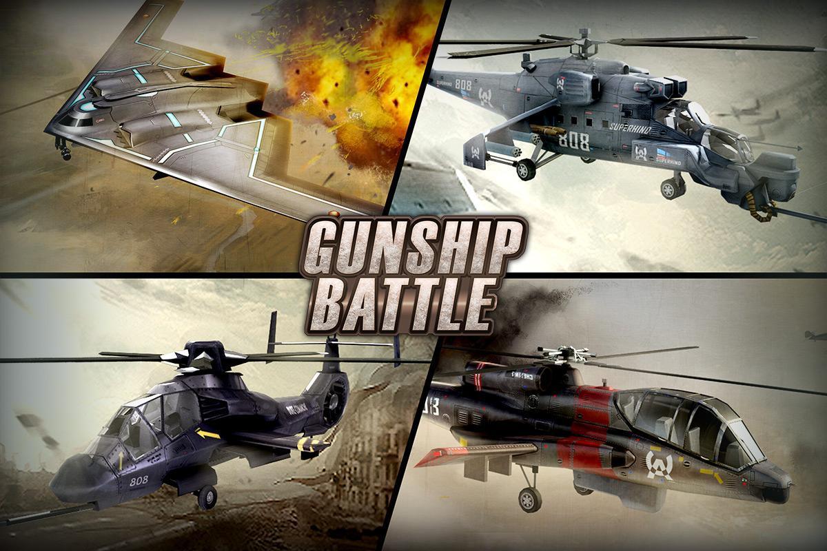 GUNSHIP BATTLE Helicopter 3D 2.7.83 Screenshot 1