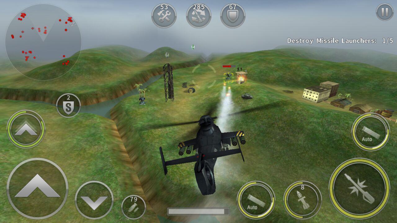 GUNSHIP BATTLE Helicopter 3D 2.7.83 Screenshot 2