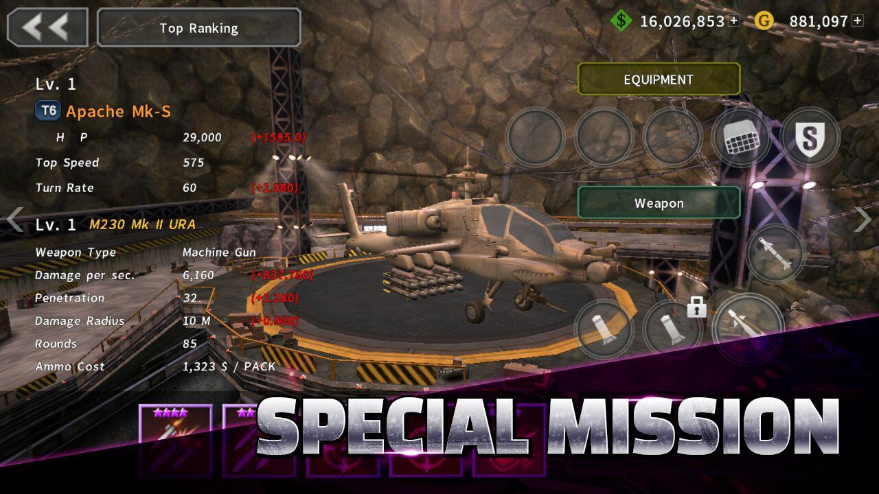 GUNSHIP BATTLE Helicopter 3D 2.7.83 Screenshot 3