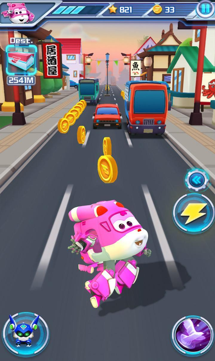 Super Wings : Jett Run 2.9.4 Screenshot 3