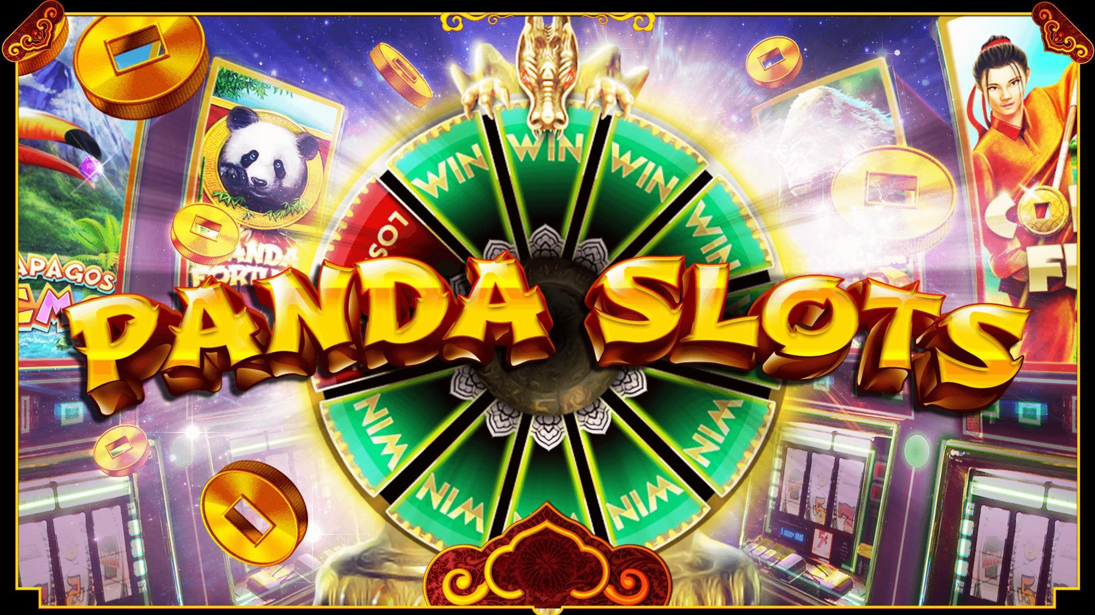 Panda Slots – Mega Win Spin Slot Jackpot 777 1.714 Screenshot 1