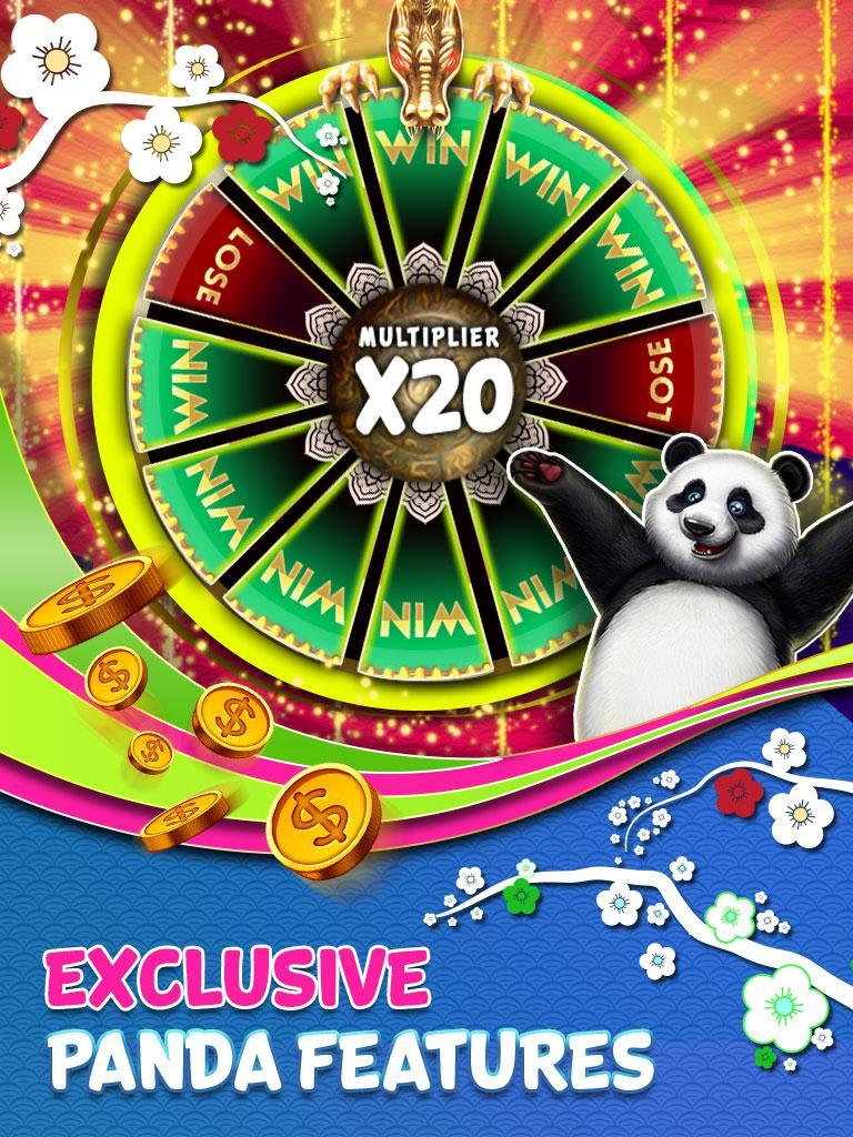 Panda Slots – Mega Win Spin Slot Jackpot 777 1.714 Screenshot 18