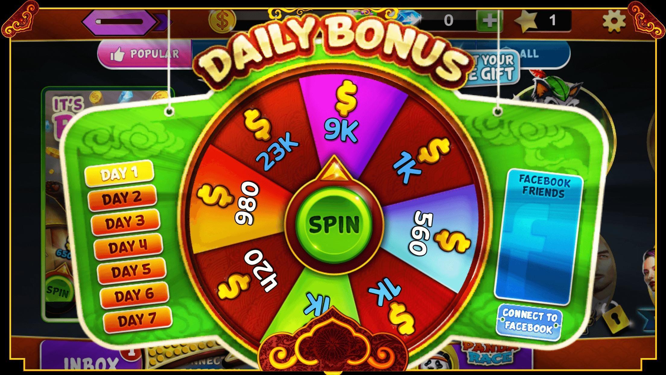Panda Slots – Mega Win Spin Slot Jackpot 777 1.714 Screenshot 3