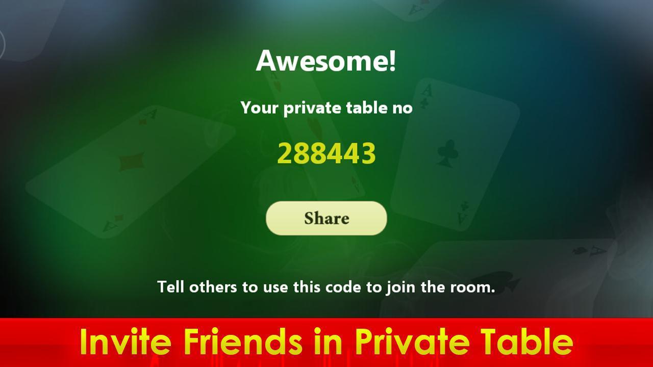 Hazari (হাজারী) - 1000 Points Card Game 3.2 Screenshot 5