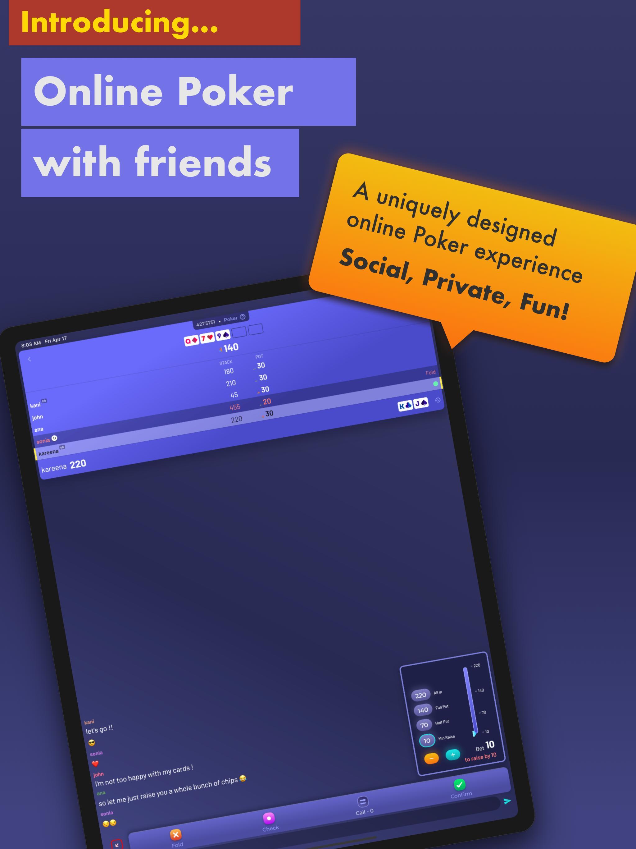 Chips of Fury Virtual Poker Chips, Poker Table 2.0.6 Screenshot 4