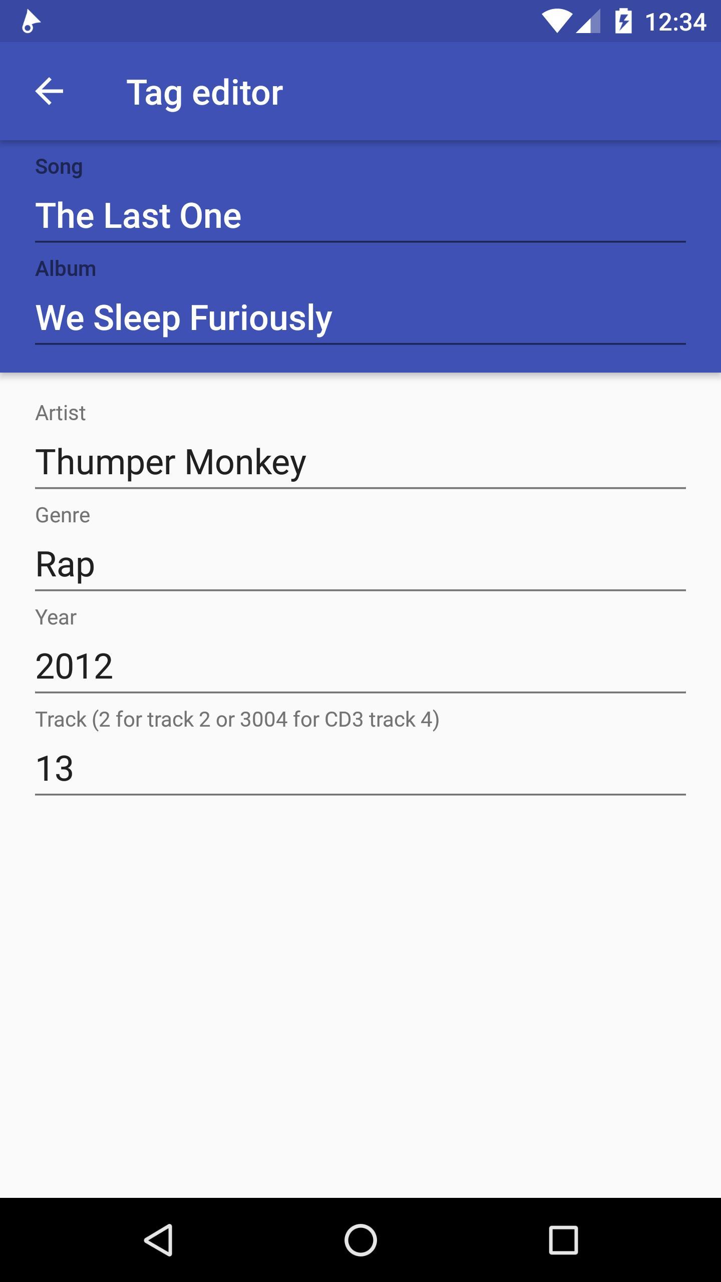 Phonograph Music Player 1.3.2 Screenshot 8