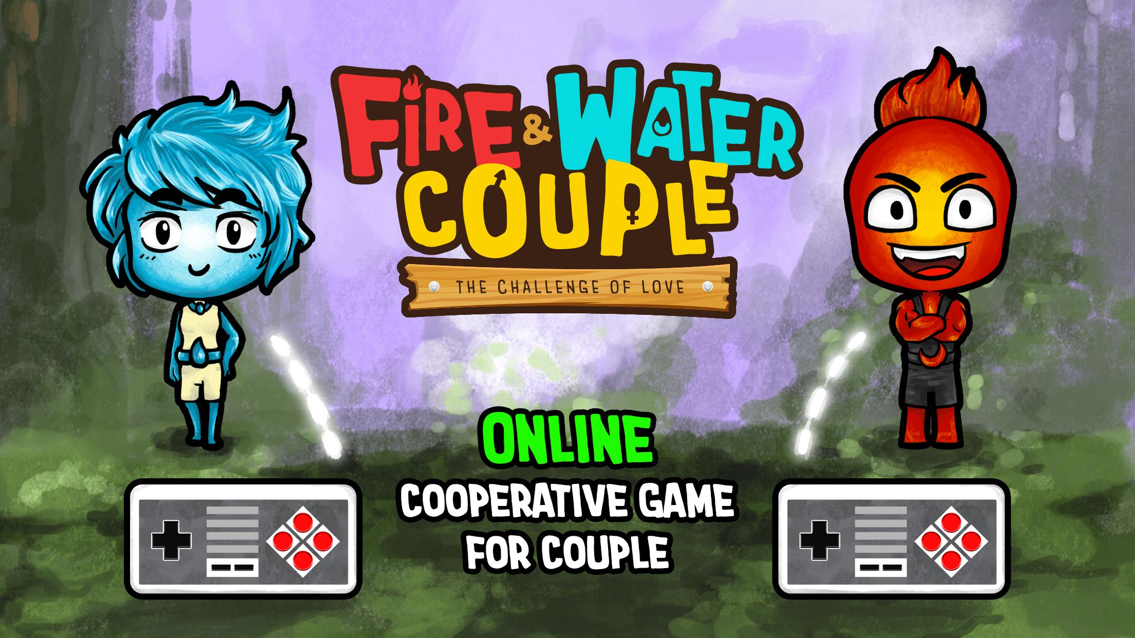 Fire and Water: Online co-op game for boy and girl 2.3.0 Screenshot 1