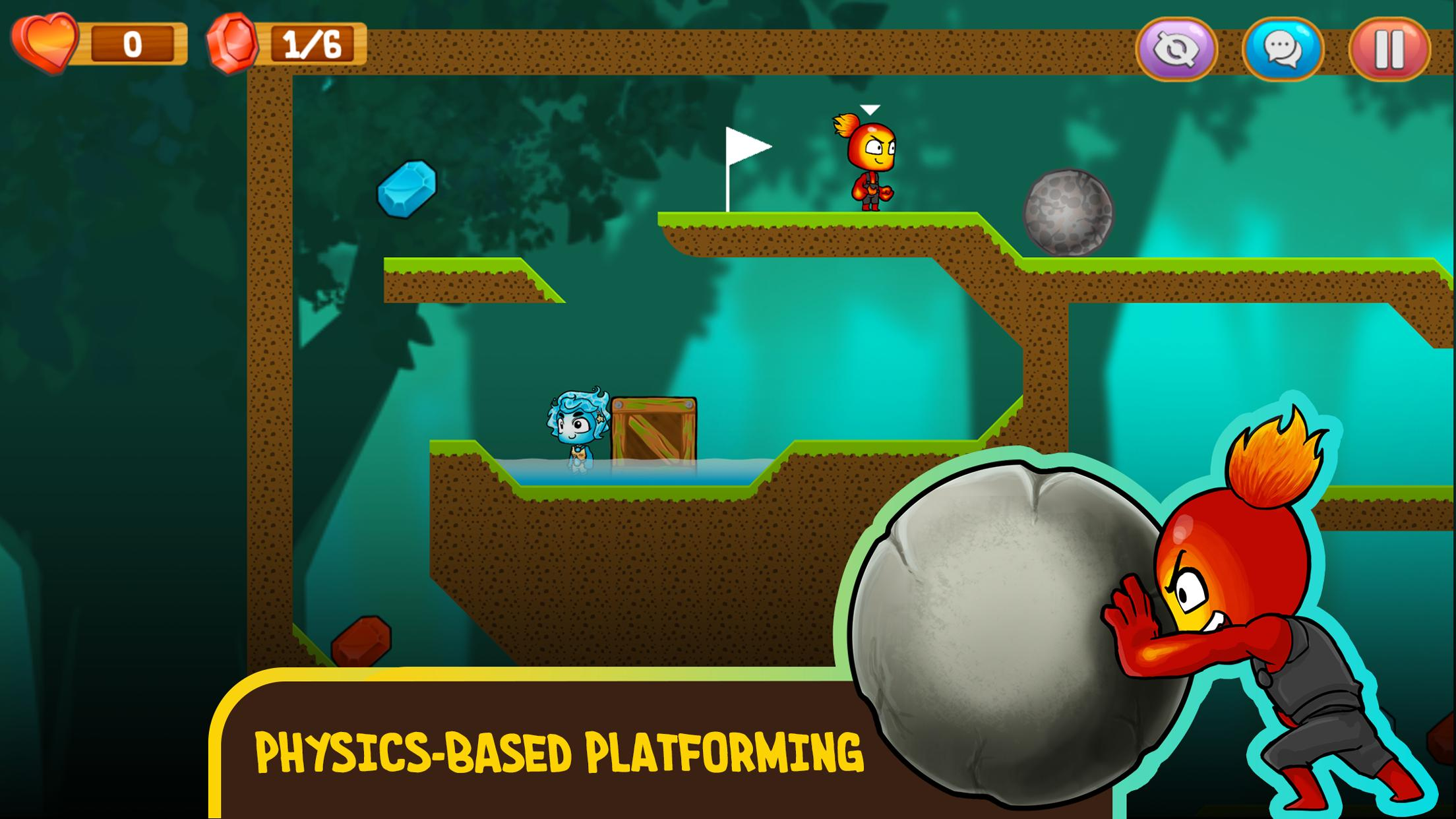 Fire and Water: Online co-op game for boy and girl 2.3.0 Screenshot 3