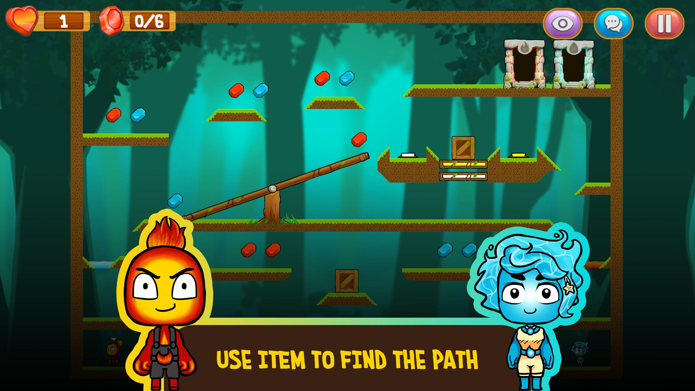 Fire and Water: Online co-op game for boy and girl 2.3.0 Screenshot 4