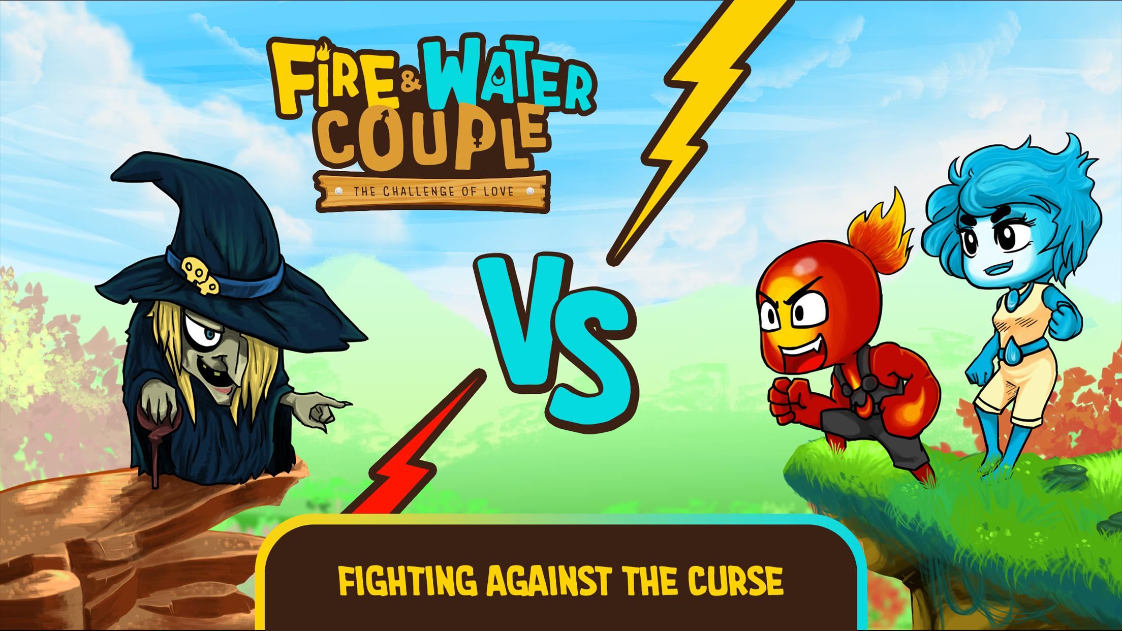 Fire and Water: Online co-op game for boy and girl 2.3.0 Screenshot 5