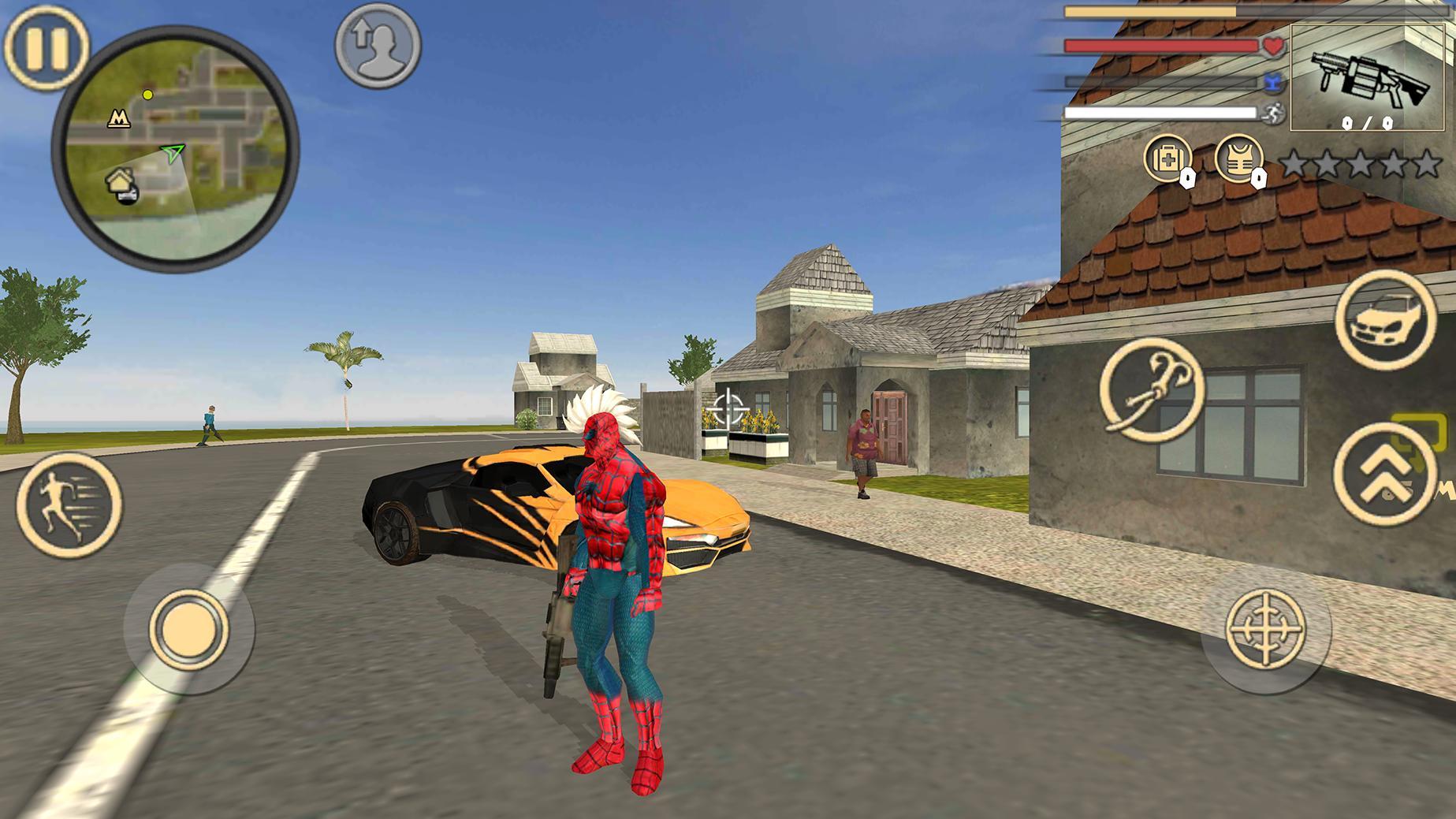Spider Rope Hero Vice Town 1.2 Screenshot 1