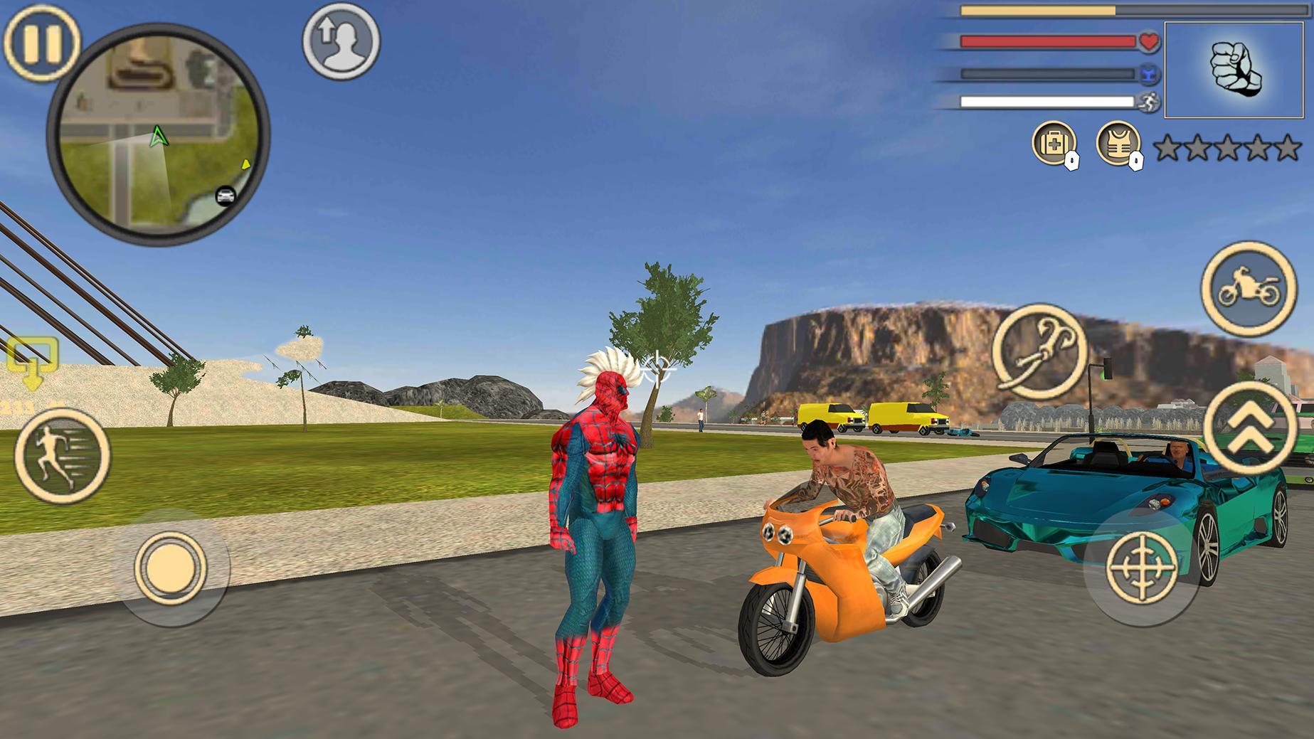 Spider Rope Hero Vice Town 1.2 Screenshot 3
