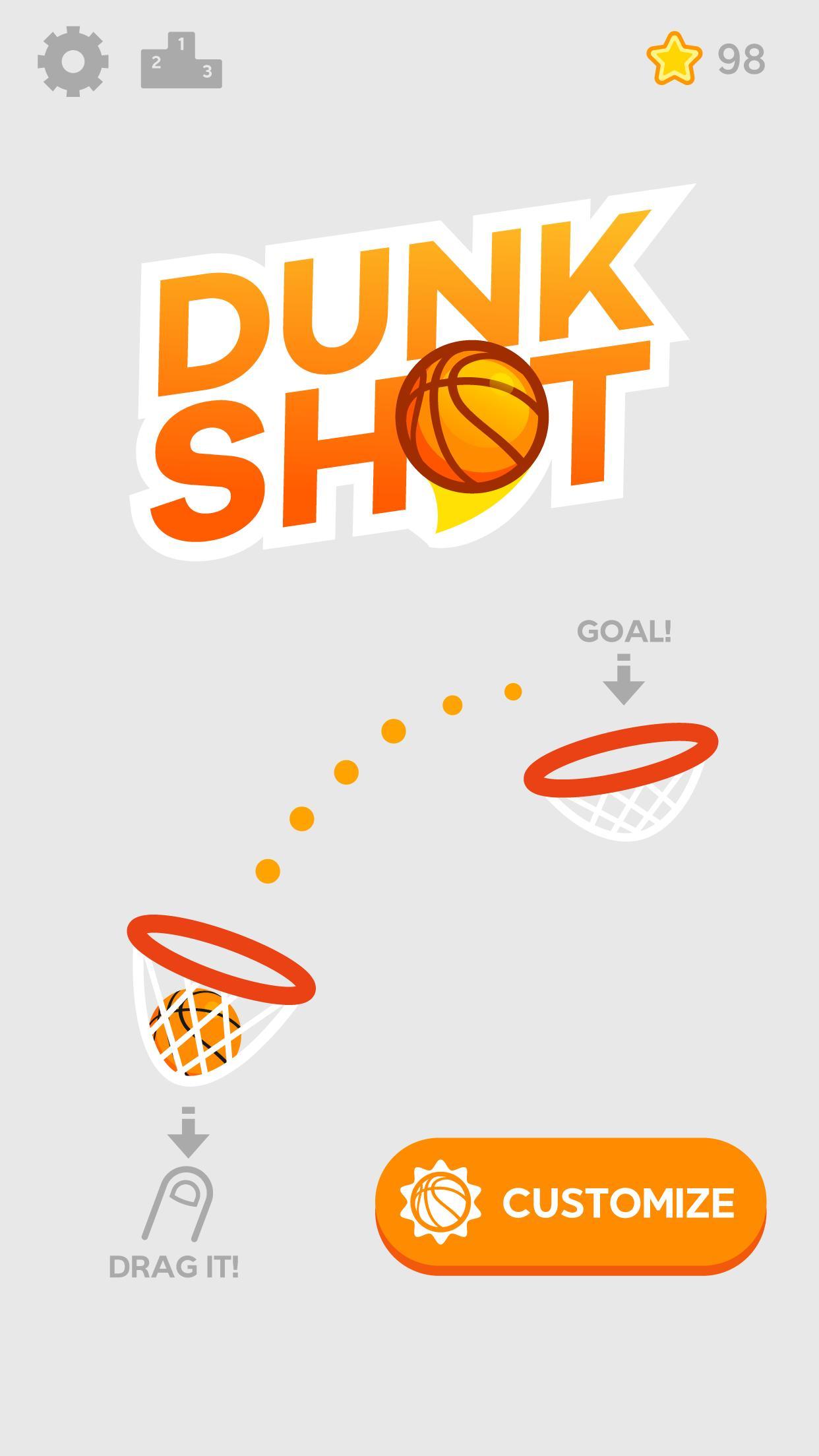Dunk Shot 1.4.4 Screenshot 1