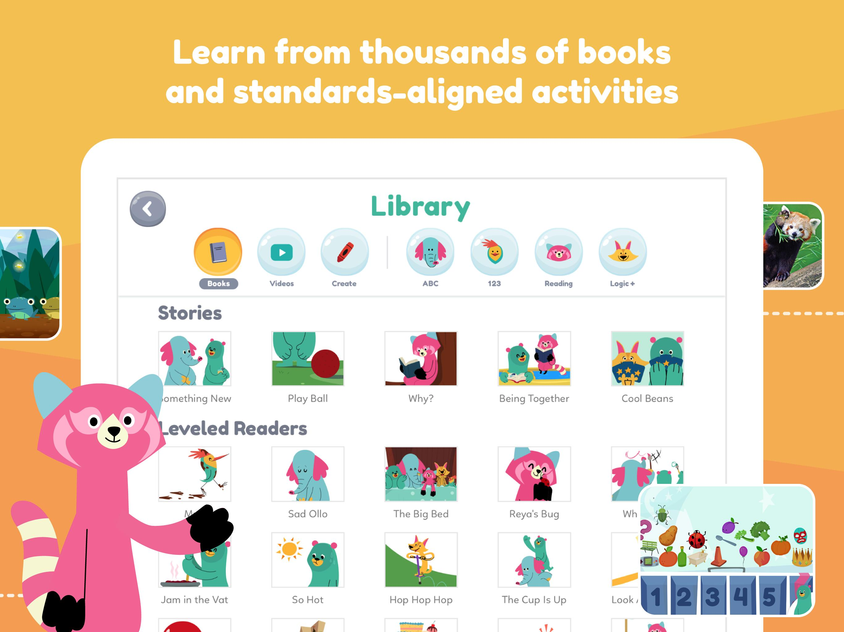 Khan Academy Kids: Free educational games & books 2.5 Screenshot 14