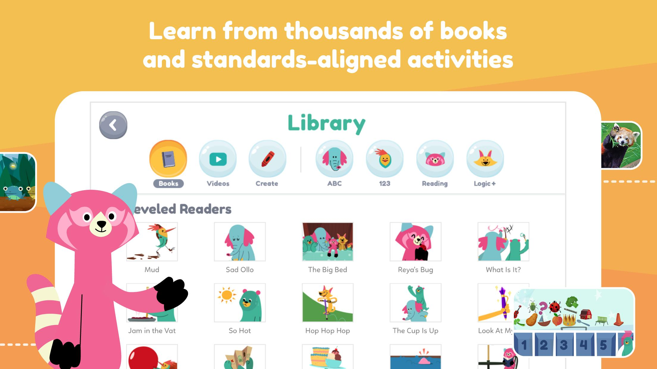 Khan Academy Kids: Free educational games & books 2.5 Screenshot 2
