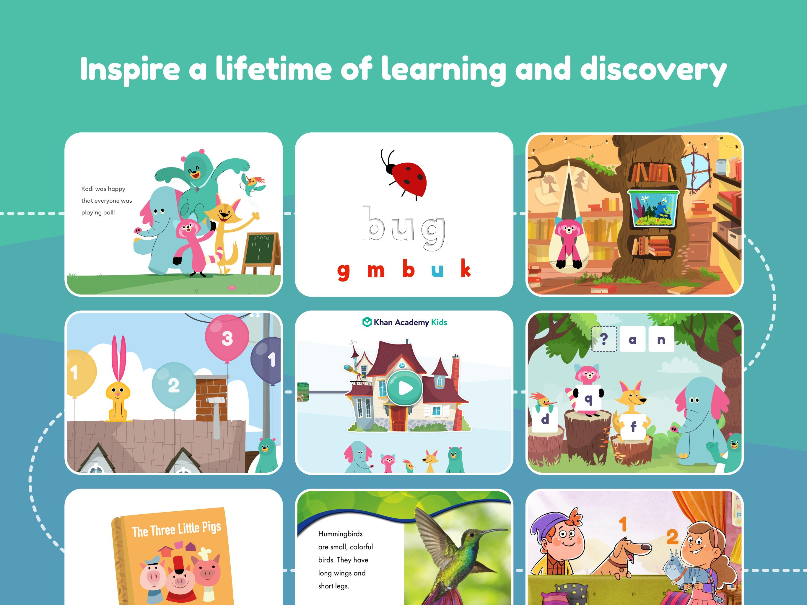 Khan Academy Kids: Free educational games & books 2.5 Screenshot 7