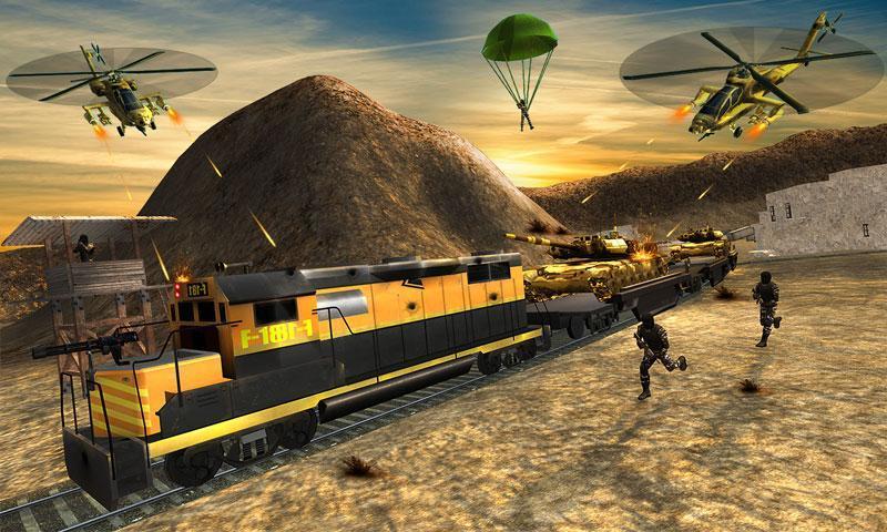 Futuristic Train Real Robot Transformation Game 1.3.0 Screenshot 2