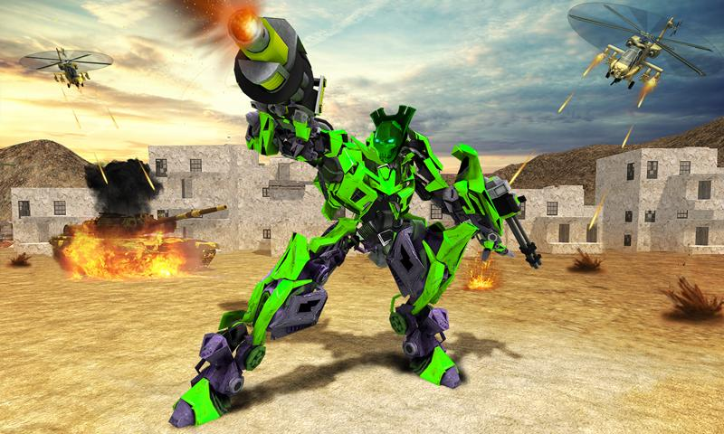 Futuristic Train Real Robot Transformation Game 1.3.0 Screenshot 3