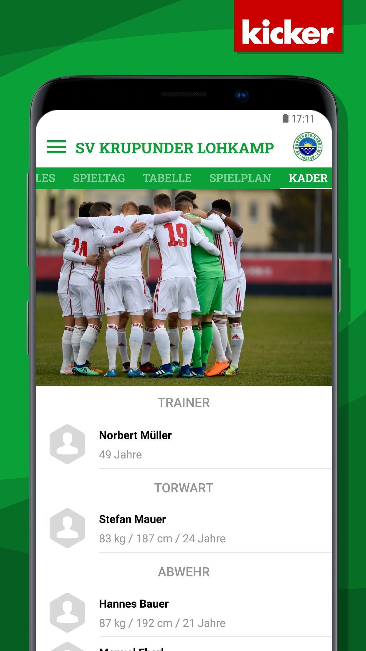 SV Lohkamp screenshot