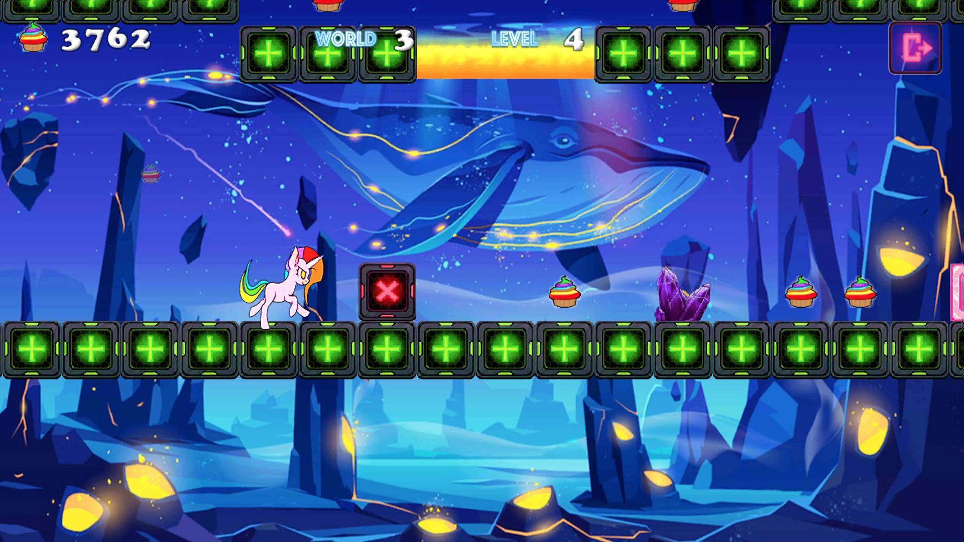 Unicorn Dash Neon Lights Unicorn Games mlp games 2.8.105 Screenshot 11