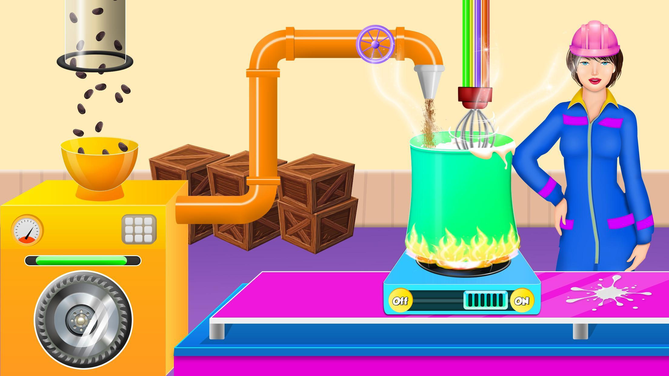 Chocolate Bar Candy Factory Cooking Dessert Snack 1.0.2 Screenshot 3
