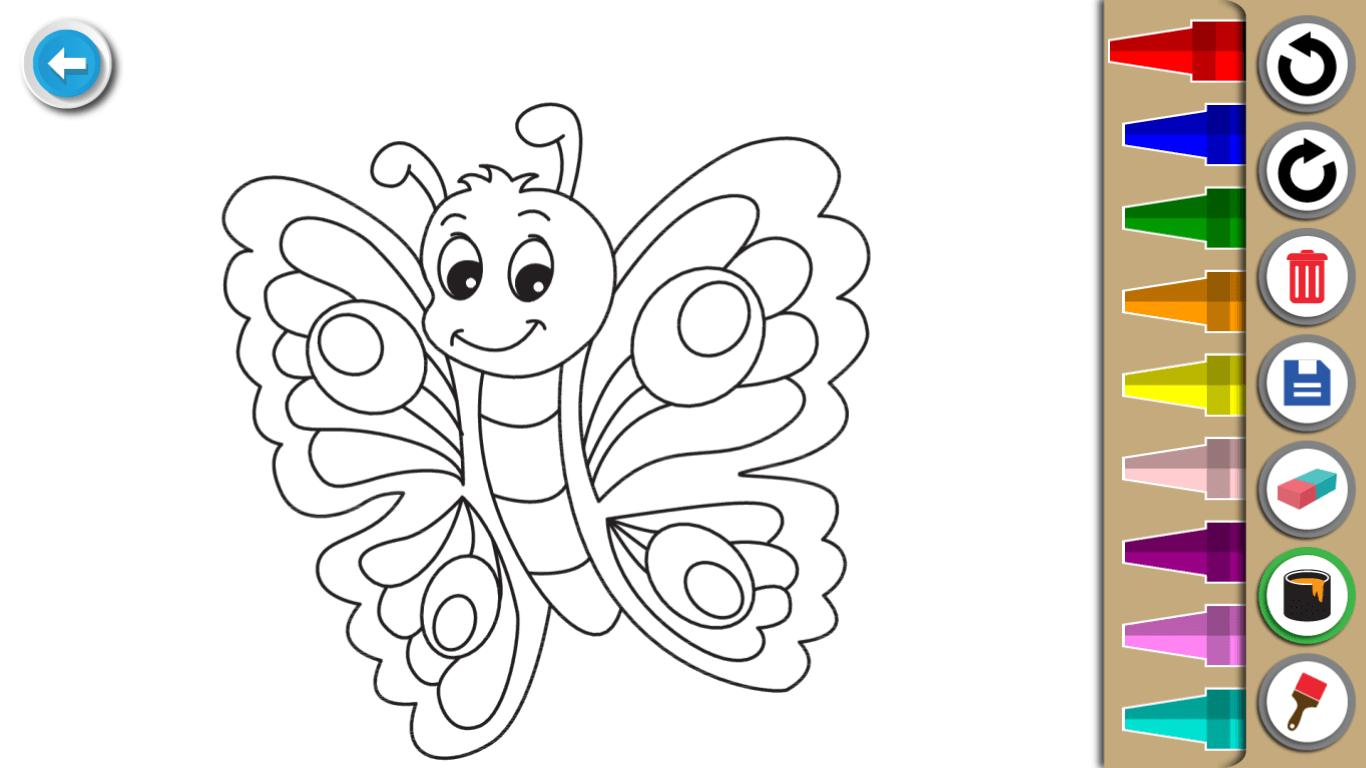 Kids Coloring Book : Cute Animals Coloring Pages 1.0.1.4 Screenshot 11
