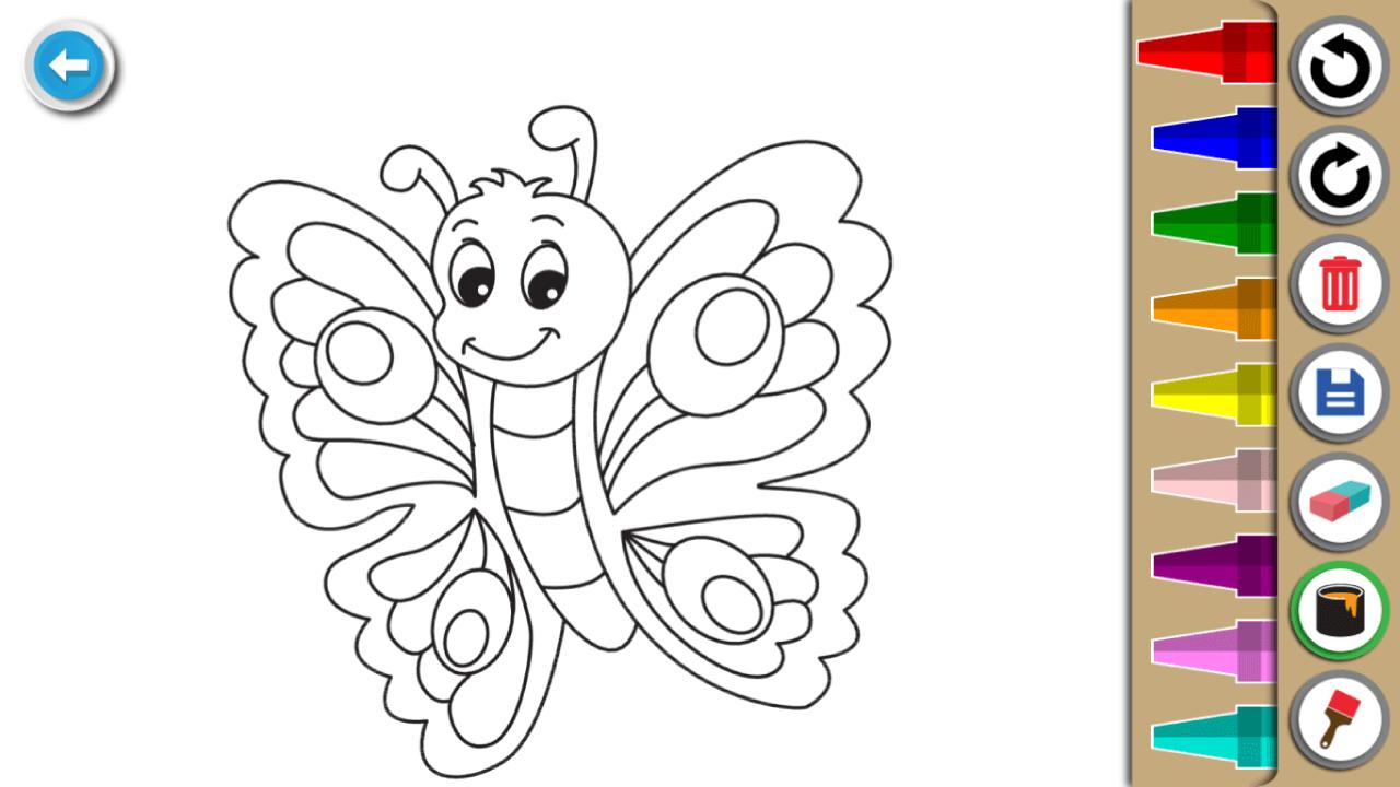 Kids Coloring Book : Cute Animals Coloring Pages 1.0.1.4 Screenshot 3