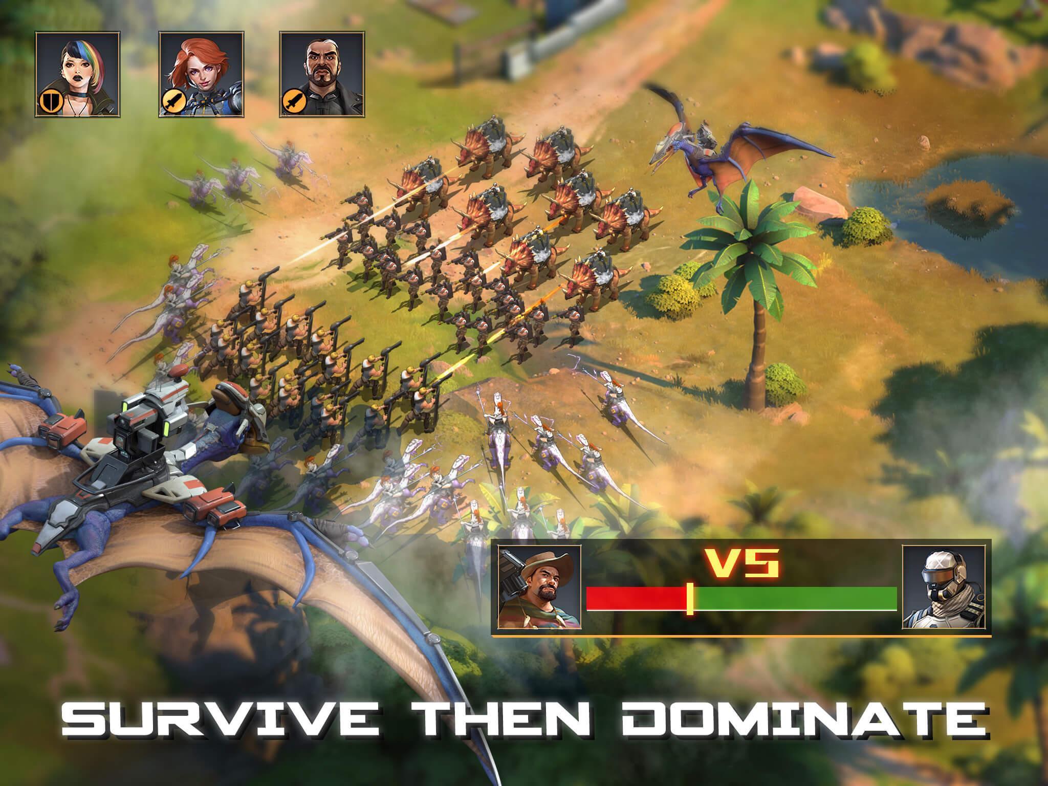 Dino War Rise of Beasts 2.1.0 Screenshot 3