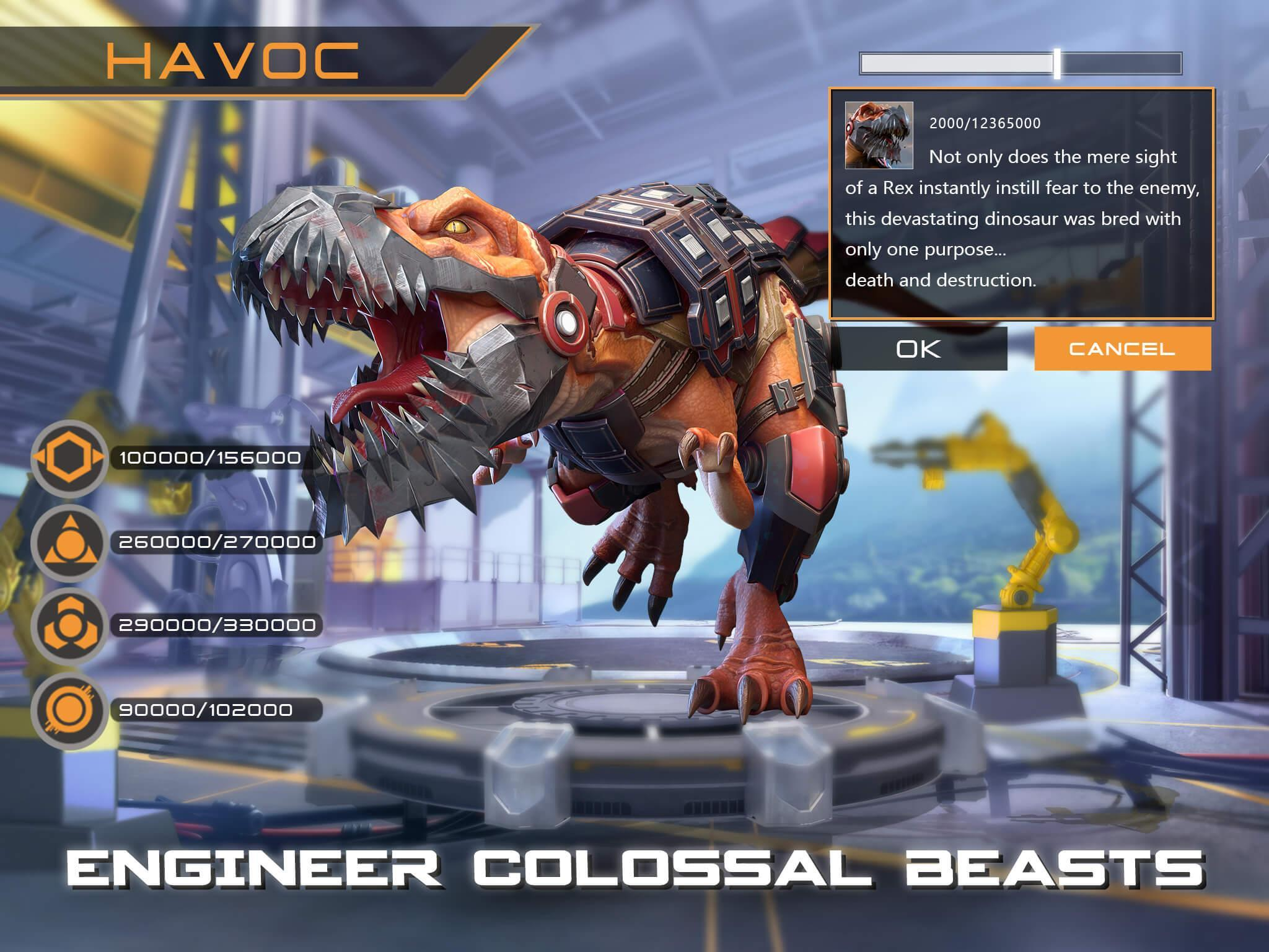 Dino War Rise of Beasts 2.1.0 Screenshot 4