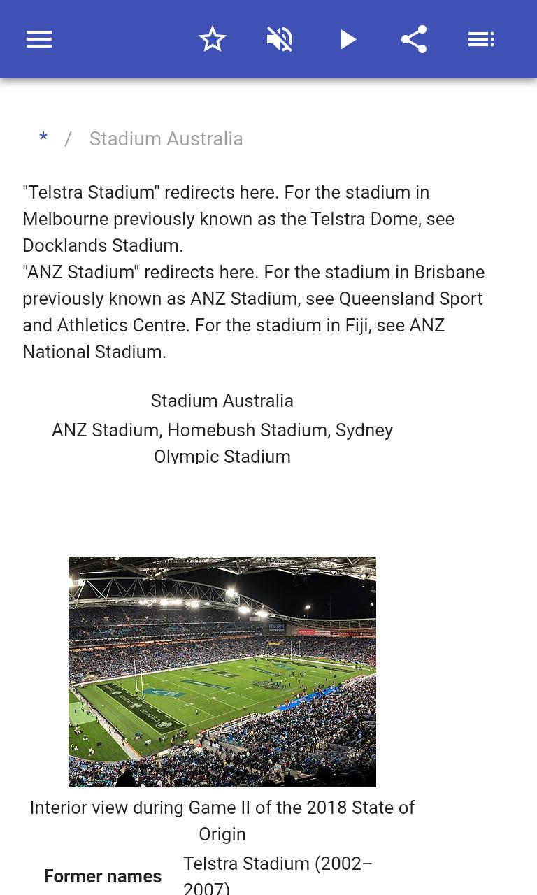 Stadiums 8.5.4 Screenshot 2
