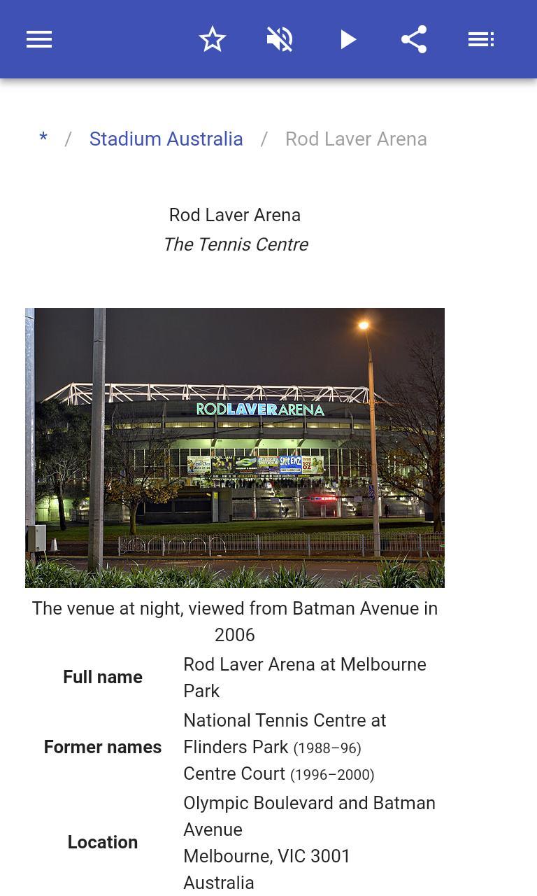 Stadiums 8.5.4 Screenshot 3