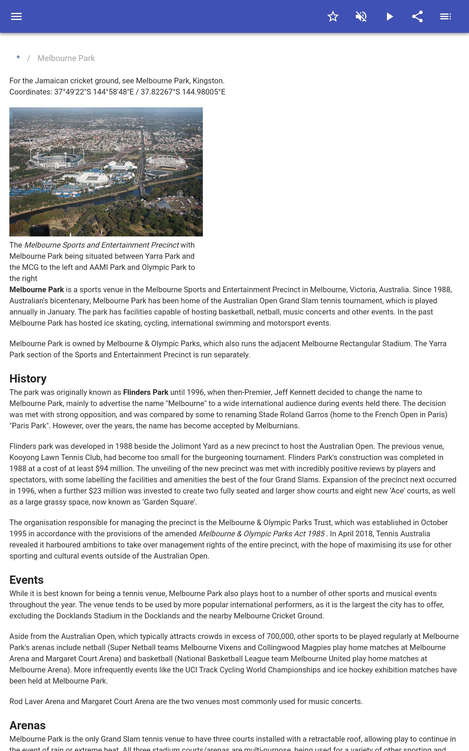Stadiums 8.5.4 Screenshot 7