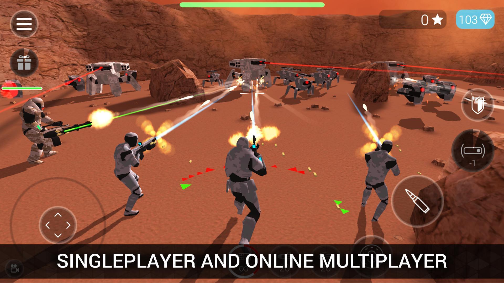 CyberSphere: TPS Online Action-Shooting Game 2.09.64 Screenshot 1