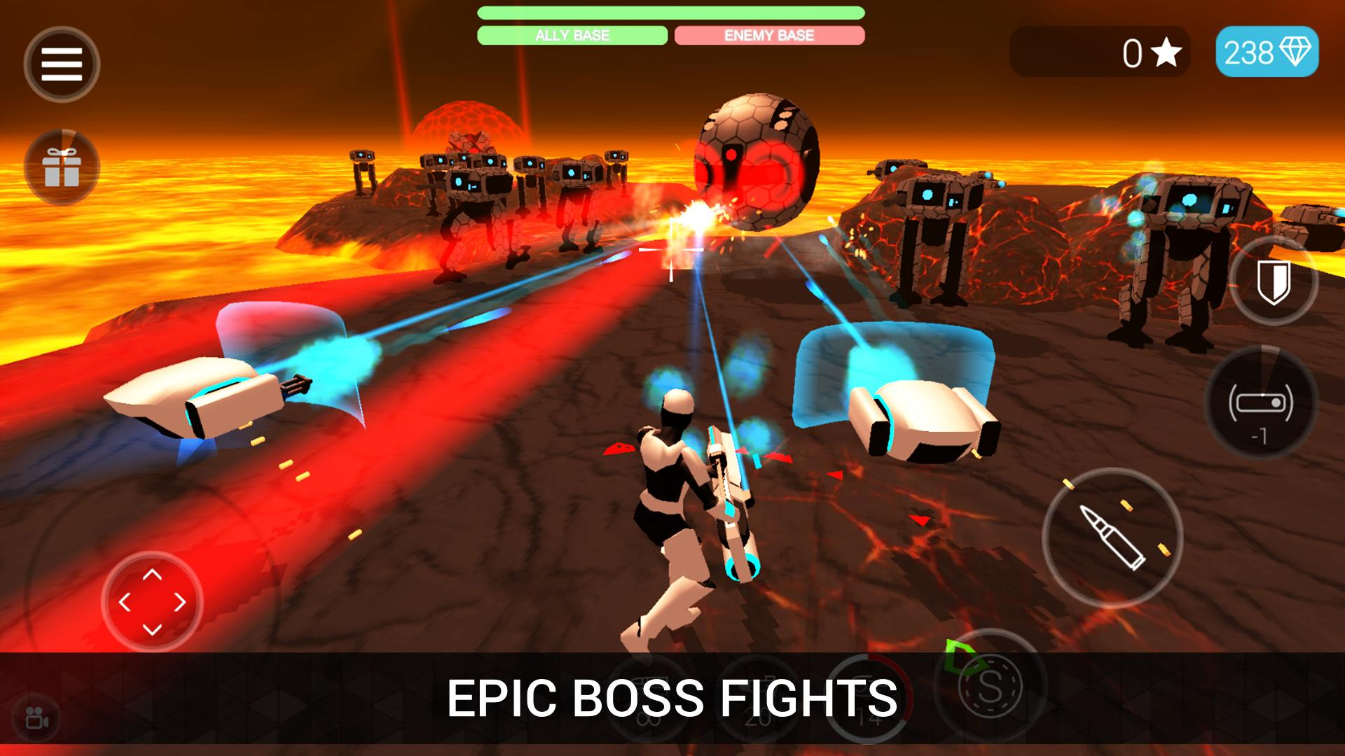 CyberSphere: TPS Online Action-Shooting Game 2.09.64 Screenshot 11
