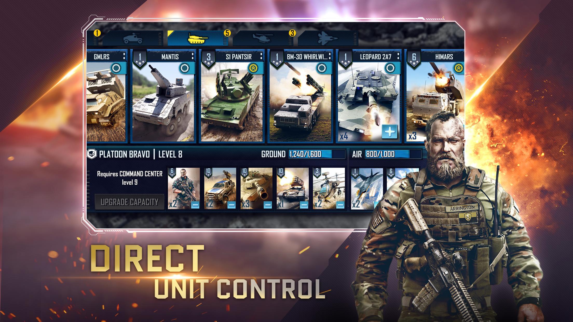 War Commander: Rogue Assault 4.0.0 Screenshot 2