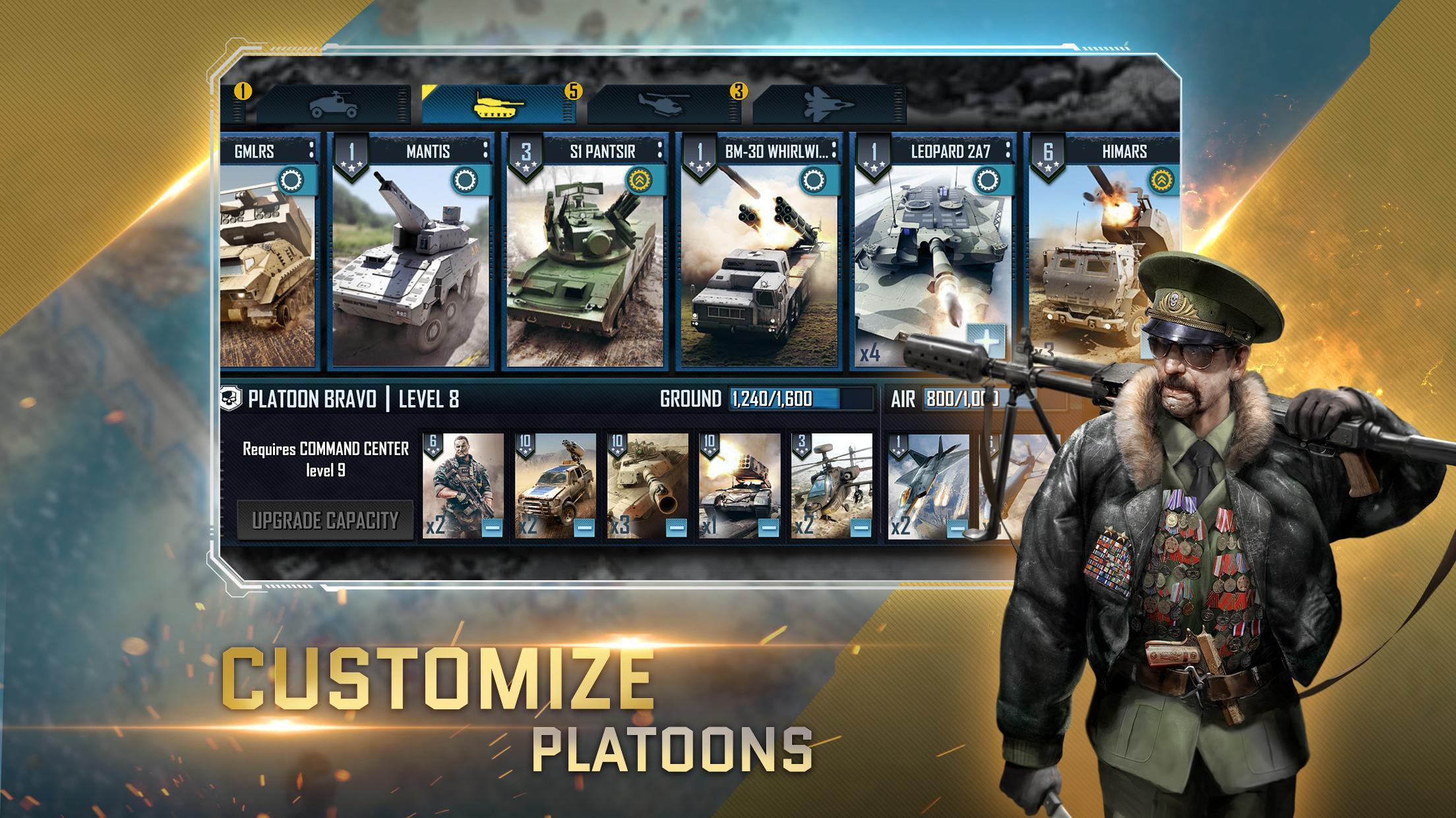 War Commander: Rogue Assault 4.0.0 Screenshot 4