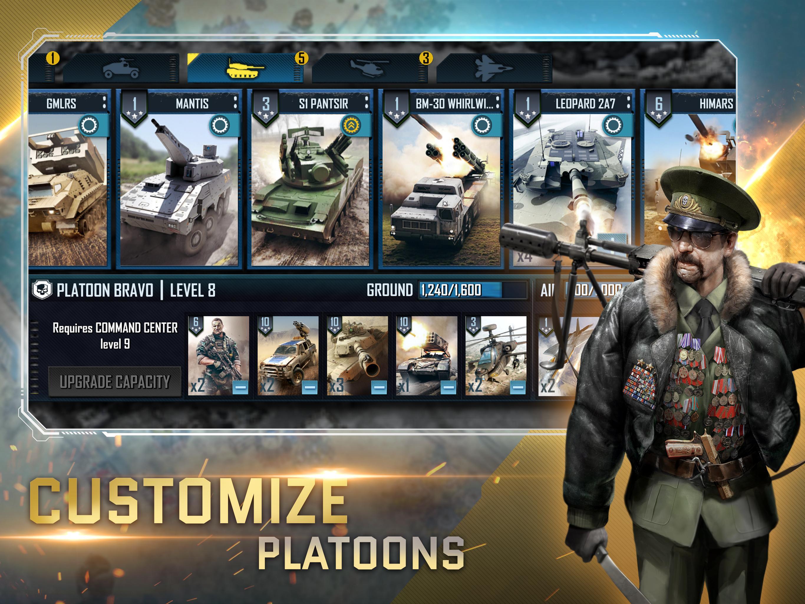 War Commander: Rogue Assault 4.0.0 Screenshot 8