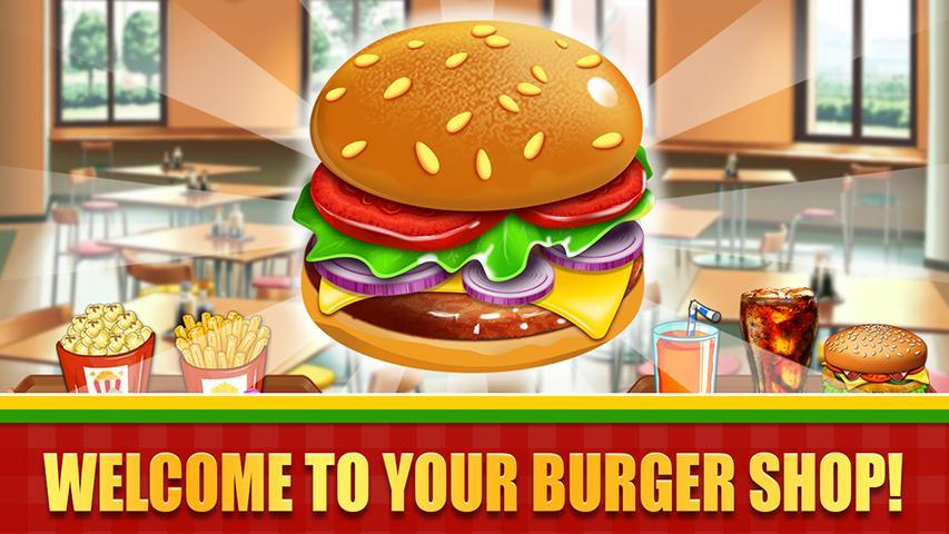 Fast Food  Cooking and Restaurant Game 1.1 Screenshot 1